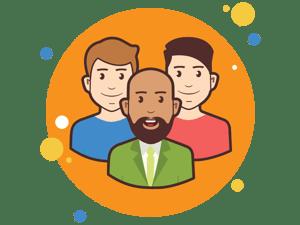 multiple people  icon