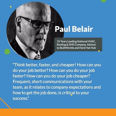 paul belair quote card